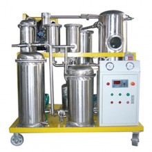 HFRP Stainless Steel Fire-Resistant Oil Filtration Machine