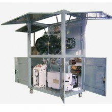 VTES Transformer Evacuation Vacuum Pump Skid