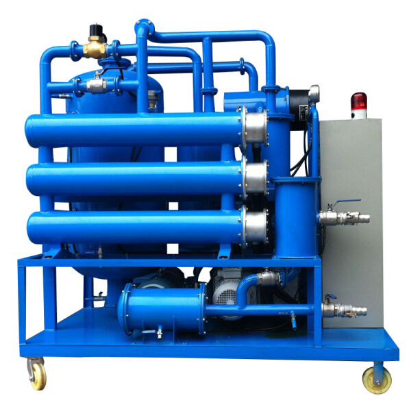 DVTP Double-stage High Vacuum Transformer Oil Filtration Plant