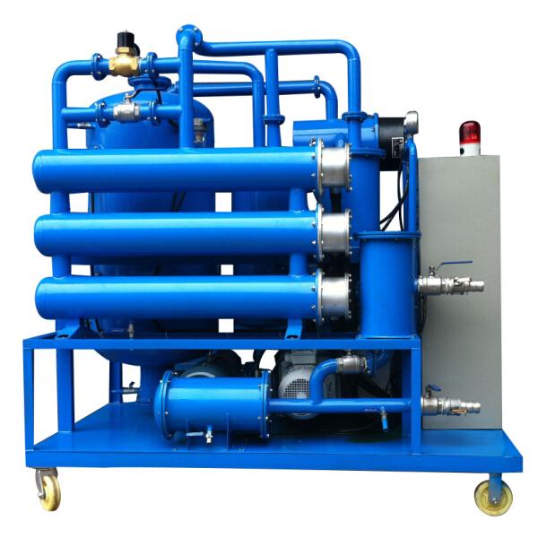 DVTP Double-stage High Vacuum Transformer Oil Filtration Plant